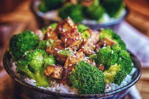 Vegetarische Asia Liebe